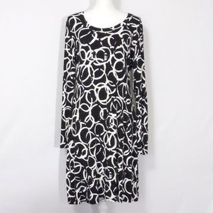 NWT Karen Kane Sail Away T Shirt Dress Size XL